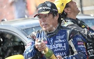 全日本ラリーいわき:新井敏弘4連勝、SUBARU WRX STIが上位を独占