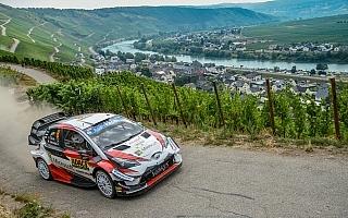WRCドイツ:タナク「ほぼ完璧な1日」 デイ2の6SS中5SSでベストタイムを記録