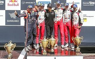 WRCドイツ:タナク今季3勝目 トヨタがマニュファクチャラーズ選手権で2位浮上
