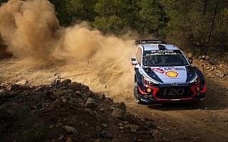 WRCトルコ:新規グラベルイベントのシェイクダウンでティエリー・ヌービルがトップタイム