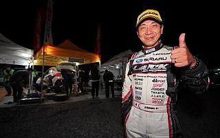 全日本ラリー北海道:2日目を終えて勝田が新井に10.3秒差のトップ