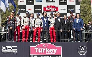 WRCトルコ:壮絶なサバイバル戦を制してタナクが今季4勝目