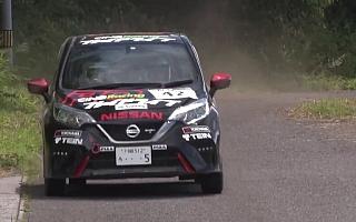 プレイドライブ・ラリーチーム、PDノートの全日本ラリー福島ダイジェストを公開