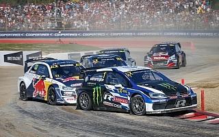 世界RXフランス:クリストファーソンが中間トップ