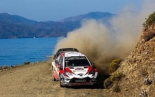 WRCトルコ:ヤリスWRCのタナクが首位浮上、ラトバラが2位につけ最終日へ