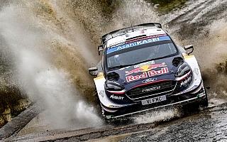 WRCラリーGB:波乱のデイ3。タナク脱落、オジエが首位に