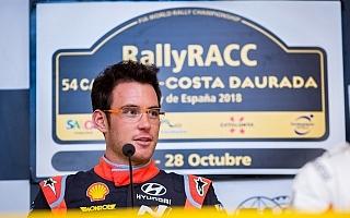 WRCスペイン:ヌービル「転倒がシェイクダウンのうちでよかった」プレ会見