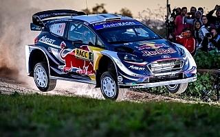 WRCスペイン:波乱のシェイクダウンはオジエがトップ