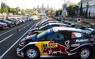 WRCスペイン:競技初日のSS1を終え、トップはオジエ