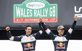 WRCラリーGB:オジエ「SS22は、ほぼ完璧だった」デイ4コメント集