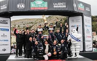 WRCラリーGB:オジエ「まだ終わってないよ!」イベント後記者会見