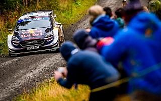 WRCラリーGB:スニネンがシェイクダウンでトップタイム、タナクにコースオフの波乱