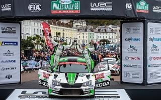 WRCラリーGB:WRC2部門はロバンペラが2度目の優勝