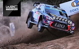 WRCスペイン:ヌービルが転倒 シェイクダウン動画まとめ