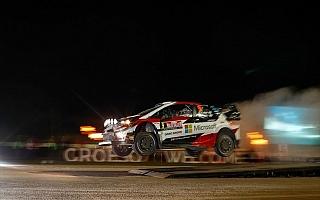 WRCラリーGB:SS1でラッピがベストタイム、ラトバラが2番手タイムの好スタート
