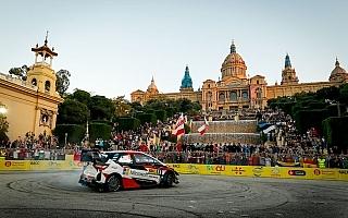 WRCスペイン:SS1でタナクが3番手タイムを記録、ヤリスは3台揃って堅調にスタート