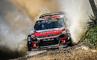 WRCオーストラリア:初日はシトロエンが1-2体制。選手権上位陣は砂利掻きでペース上がらず