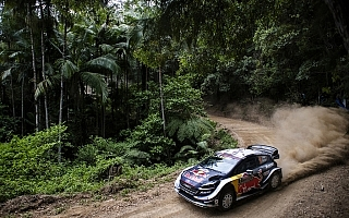 WRCオーストラリア:タイトル決戦のシェイクダウン、まずはオジエがトップタイム