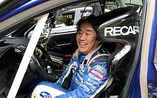 全日本ラリー新城:初日、前戦でタイトルを決めた新井が首位快走