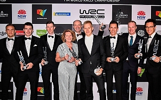 WRCアワード、オィット・タナックがベストドライバー3連覇を含む三冠