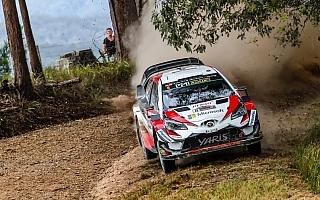 WRCオーストラリア:競技2日目はトヨタが1-2 タナクがラリーをリード