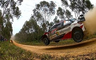 WRCオーストラリア:タイトルに挑むトヨタ。タナクがシェイクダウン2番手タイムを記録
