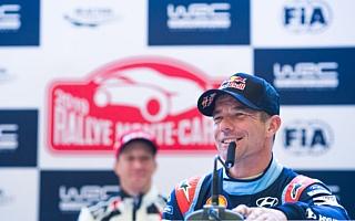 WRCモンテカルロ:ローブ「初めて変わる機会を得た」プレ会見