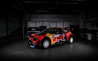 シトロエン、2019年のC3 WRCはレッドブルカラー