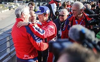 WRCモンテカルロ:オジエ「珍しく感極まった、とてもうれしかったんだ」イベント後記者会見