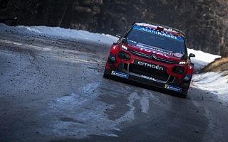 WRCモンテカルロ:オジエとヌービルが激しい首位争い