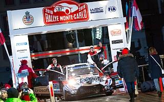 WRCモンテカルロ:トヨタのタナックがSS1でベストタイム、ラリー初日をリード