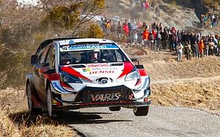 WRCモンテカルロ:デイ2を終えてラトバラが総合4位浮上、SS6でベストタイムも