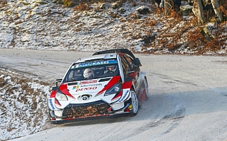 WRCモンテカルロ:デイ3の全SSでタナックがベストタイム、ラトバラは総合4位を堅持