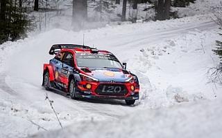 WRCスウェーデン:シェイクダウンはヒュンダイのヌービルがトップ