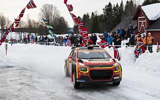 WRCスウェーデン:WRC2プロはオストベルグ、WRC2はベイビーが優勝