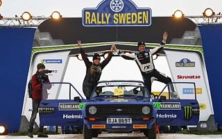 ペター・ソルベルグ、ラリースウェーデンのヒストリック部門で完勝