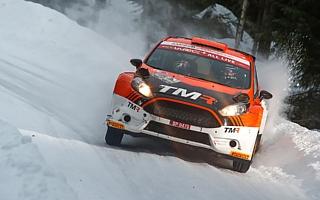 WRCスウェーデン:勝田貴元、最終SSで惜しくも完走を逃す