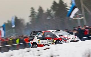 WRCスウェーデン:競技3日目を終え、トヨタのタナックが奪首。2番手争いが激化