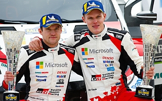 WRCスウェーデン:タナックが今季初優勝、トヨタがマニュファクチャラー選手権首位に