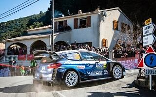 WRCフランス:競技初日を終えてフォードのエバンスが首位