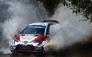 WRCメキシコ:シェイクダウンはトヨタのミークがトップタイム