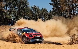 WRCメキシコ:競技3日目、シトロエンのオジエがリードを拡大