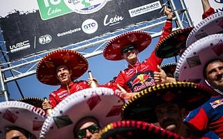 WRCメキシコ:オジエ「ホッとしたとは言えない」イベント後記者会見