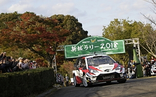 全日本ラリー新城:ハンニネンがヤリスWRCでデモランを実施