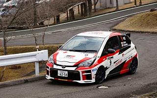 全日本ラリー新城:TGR Vitz GRMN Rallyが今季2勝目