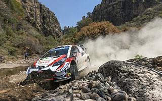 WRCメキシコ:ミークが総合3位浮上、タナックも不利な出走順ながら総合4位につける
