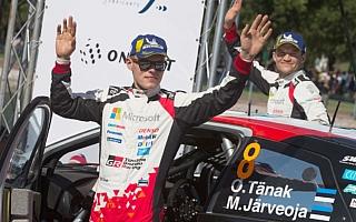 WRCメキシコ:タナックが総合2位フィニッシュでドライバー選手権首位の座を堅持