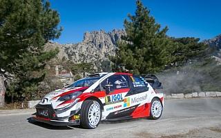 WRCフランス:初日、トヨタのタナックが安定した走りで総合2位
