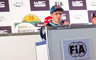 WRCアルゼンチン:ヌービル「マシンの強さを自覚しているのは重要なこと」プレ会見