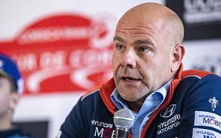 WRCフランス:ヒュンダイのチーム代表アダモ「勝ったのはティエリー、ヒュンダイが勝ったのではない」イベント後記者会見